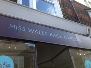 """Miss Walls Back Garden"", Eastbourne"